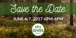SAVE THE DATE: New Hampshire Gives Day 2017