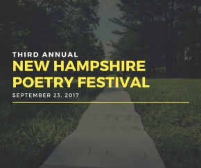Third Annual NH Poetry Festival to Take Place on September23