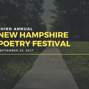 Third Annual NH Poetry Festival to Take Place on September 23
