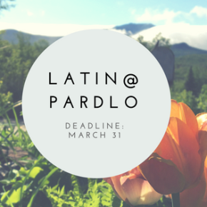 2018 Latin@ and Gregory Pardlo Scholarships