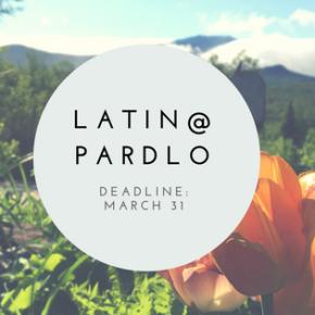 2018 Latin@ and Gregory PardloScholarships